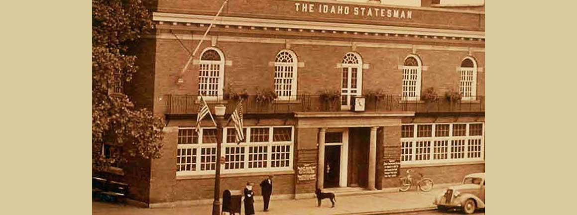 Old Idaho Statesman building in Boise