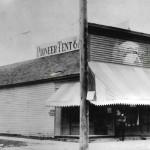 Pioneer Tent Building Then